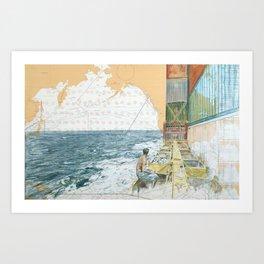 Deckwork Mid-Atlantic Art Print