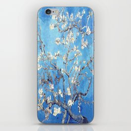 Vincent Van Gogh Almond Blossoms. Sky Blue iPhone Skin