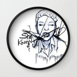 #STUKGIRL Danielle Wall Clock