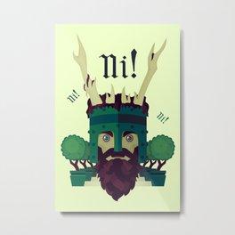 NI! Metal Print