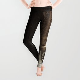 The gossipers and the green witch Leggings