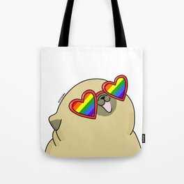 Pug love lgtb pride Tote Bag