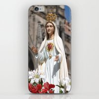 madonna iPhone & iPod Skins featuring Madonna by Frau Fruechtnicht