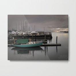 A Marina in Narragansett Bay Metal Print
