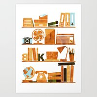 the office Art Prints featuring Office by Kata