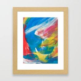 Abstract Artwork Colourful #4 Framed Art Print