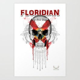 To The Core Collection: Florida Art Print