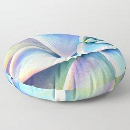 Bright Succulent Floor Pillow