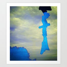 Signs in the Sky Collection - Hope Art Print