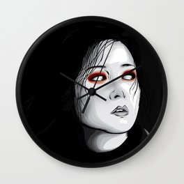 Vengeance Trilogy - Lady Vengeance Wall Clock