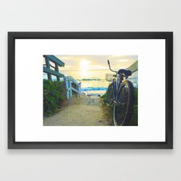 La Jolla Sunset Framed Art Print