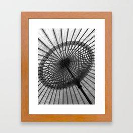 Oil-Paper Parasol Framed Art Print