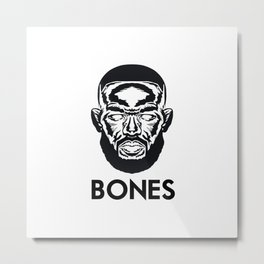 "Jon ""Bones"" Jones Metal Print"