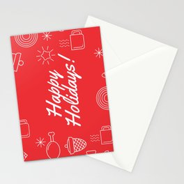 Holiday Greeting Card - Happy Holidays Card - Christmas Card Stationery Cards