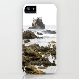 Rock Arch at Crystal Cove, Newport Beach, California iPhone Case
