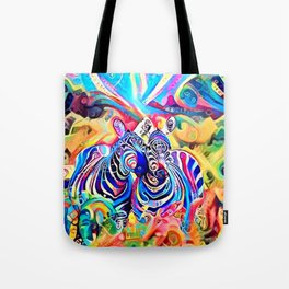 The Rainbow Sisters Tote Bag