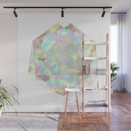 Milky White Opal Wall Mural
