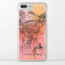 Where magic happens Clear iPhone Case