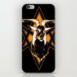 Goat of Mendes iPhone Skin