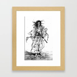 Vagabond chapter 195 Framed Art Print