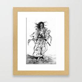 Vagabond chapter 195 Framed Art Print