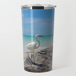 Heron By The Sea Travel Mug