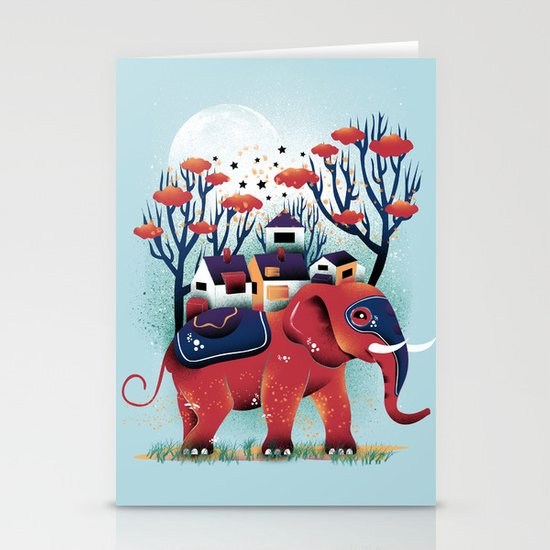 A Colorful Ride Stationery Cards