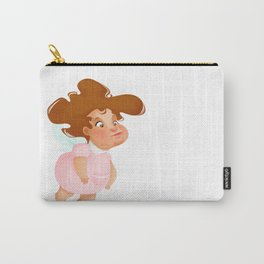 Angel lady  Carry-All Pouch