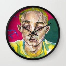 SYRE, a beautiful confusion Wall Clock