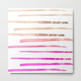 SURI PINKISH Metal Print