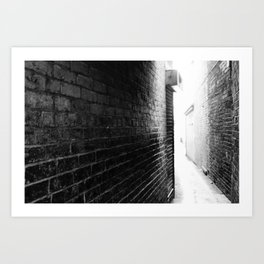 UNKNOWN ROUTE. Art Print