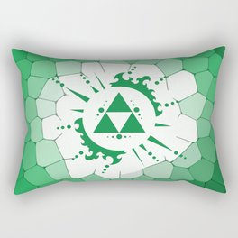 Legend Of Zelda Triforce Rectangular Pillow