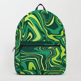 Green Slime Agate Backpack