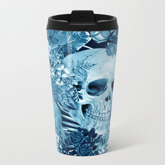 tropic skull Metal Travel Mug