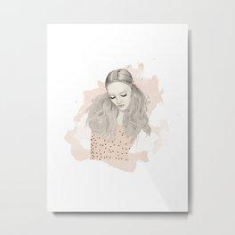 Pink Top Metal Print