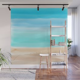 Going to the beach Wall Mural