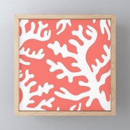 LIVING CORAL 2 Framed Mini Art Print
