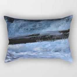 A Colder Winter Rectangular Pillow