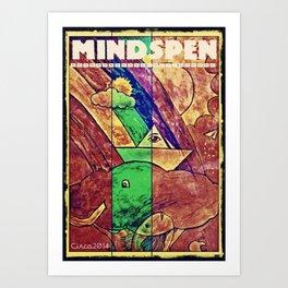 Mindspen Art Print