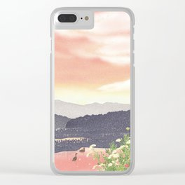At the end of Summer | Miharu Shirahata Clear iPhone Case