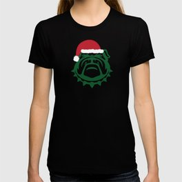 Christmas Bulldog T-shirt
