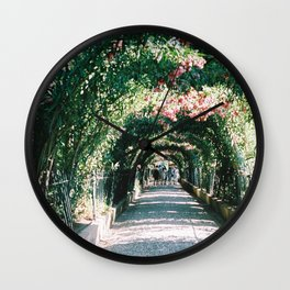 Shaded Pathway Wall Clock
