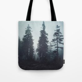 Leave In Silence Tote Bag