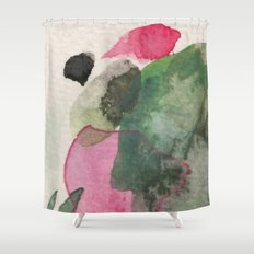 Longing for spring Shower Curtain