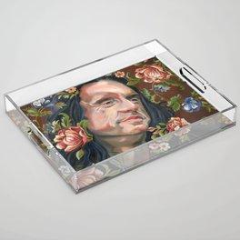 Johnny Acrylic Tray