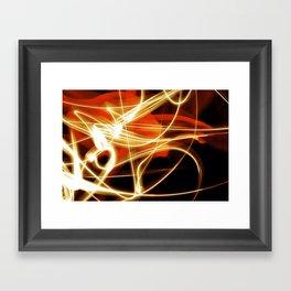 merging light II Framed Art Print