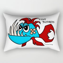 Fishy Business Rectangular Pillow