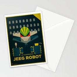 Lo Chiamavano Jeeg Robot Alternative Movie Poster Stationery Cards