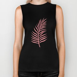 Palm Leaves_Pink Biker Tank