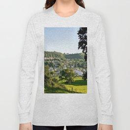 Lyme Regis Landscape Long Sleeve T-shirt